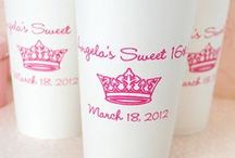 Cup Art / Not sure what to print on your cups? Take a look at some cute and creative ideas!