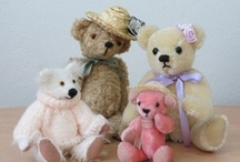 My Teddy Bears / Hand made teddy bears. Everyone has a character of its own.