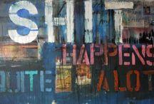 Art-Word Up! / Words as art!