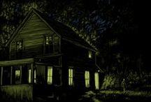 Art-Danger & Kenn / Spooky art by Daniel Danger and Don Kenn.