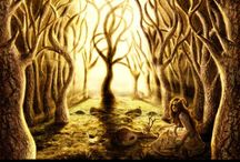 Art-Trees&Landscapes / Natural and arboreal landscape art. / by Roxanne Buchanan