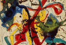 Art-Jackson Pollock / Abstract art by Jackson Pollock.