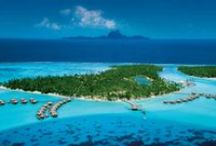 Islands of Tahiti / The islands of Tahiti are exotic, stylish and pleasurable to the eye and spirit. This is the essence of a vacation where there is no time but the moment to experience serenity.