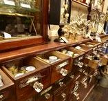 Antique shop fittings / Architectural antiques and original, unique and salvaged display cabinets, cases and shop counters... and a few other things from our showroom.