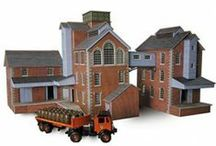 00/H0 Scale Industrial Buildings / Our range of Industrial buildings in 00/H0 scale.