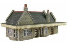N Scale Railway Buildings / Our collection of N scale railway buildings