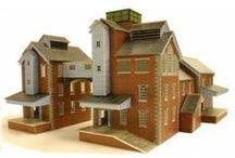 N Scale Industrial Buildings / Our range of N scale industrial buildings