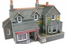 N Scale Town & Country Buildings / Our collection of N scale town and country buildings