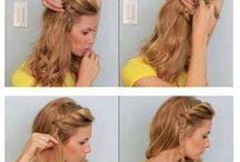 Farklı saç modelleri / Hair - step by step
