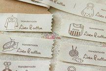 Da stampare/Labels / Etichette regali e abiti