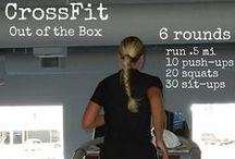 Crossfit exercises training workout / Crossfit exercises training workout - Crossfit training program