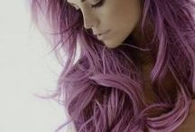 Hair Envy / I love, love, love funky colours of hair. Wish I could pull them off.