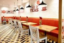 Interiors - cafés / Cafés, coffee shops, tea shops and tea rooms... we have everything you need for yours.
