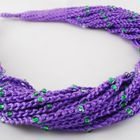 Crochet necklace. Beads,yarn. Вязаные бусы. Бисер, хлопок. / Crocheted beads in a Boho style. Beads and cotton yarn. Light, soft and cozy.  Связанные крючком бусы и браслеты в стиле бохо. Бисер и хлопковая пряжа. Легкие, мягкие и уютные.