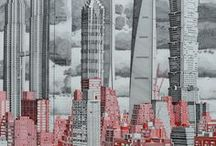 <Architecture - Sketching> / Sketches and drawings of architecture real or imagined.