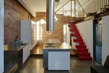 <Architecture - Kitchen> / Nice kitchens, kitchen details and fixtures.
