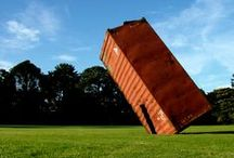 <Architecture - Shipping Container> / Shipping Containers used in architecture.