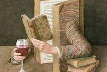 Книги / Источник знаний, фантазий, и просто увлечений / by Lyudmila Shiryaeva