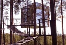 <Architecture - Treehouse> / So where are you living? Well its kind of up in the air at the moment.