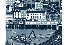 Artists & Printmakers / Artists and Printmakers that I admire who produce fabulous work.