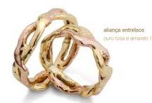 Anéis em ouro 18k