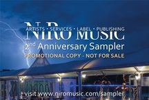 NiRo Music Anniversary Samplers (Limited Edition) / We're happy to release our NiRo Anniversary promotion albums for our various artists and labels as well as the interested media, containing a selection of tracks from the albums we've released during year.