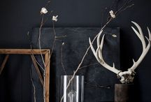 Dark Interiors / Dark and decadent interiors that really pack a punch. Sarah x