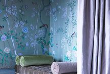 Chinoiserie Interiors / The beauty of Chinoiserie in home decor. Sarah x