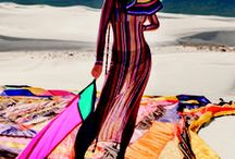 Missoni ADV Summer 2018 / Kendall Jenner and Filip Roseen play among the dunes of White Sands National Monument in this Missoni SS 2018 campaign video shot by Harley Weir with creative direction by Angela Missoni and artwork by Rachel Hayes.