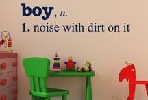 boys will boys / by Heather Andrejkanic Pergola