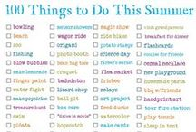 Summer Activities / by Easybee