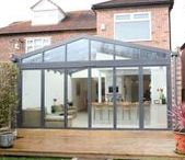 Modern Glass Extensions / Apropos creates stunningly unique extensions to help you get the most out of your home; allowing light and life to flood your property and changing the way you use your space forever. All Apropos' structures are bespoke and therefore designed entirely around you; whether you need a garage conversion, kitchen extension, family hub or something more quirky Apropos is the number one designer on the market today. To order your brochure or book a free design consultatation go to www.aproposuk.com.