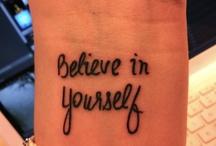 Tattoo Ideas / by Sarah Hartung