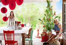 CHRISTMAS / Inspiration for a summer christmas