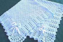 Crochet ~ Baby Blankets / by Heather Andrejkanic Pergola