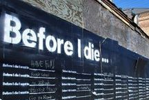 before i die / by Alecia Silva
