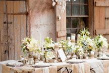 ideas wedding boho - rustic - vintage