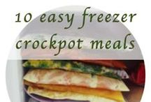 Planning Ahead - Food for the Future / Freezer Meals,and DIY dry mixes / by Carol Tyner