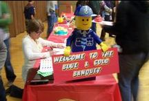 Cub Scouts - Lego Blue & Gold