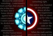 Steve Rogers & Tony Stark / Steve Rogers x Tony Stark <3 STONY - IronCap - Marvel