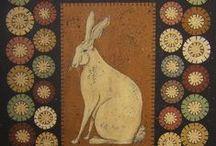felt/wool/penny rug