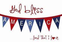 God Bless America / America & Military  / by Robin RL