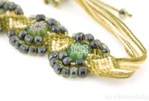 Micro Macrame / micro macrame jewelry