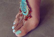 Toe nails / by Debbie Kutz