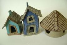 kramik små huse og andet småt