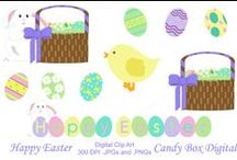 Easter Parade / Easter designs and paper crafts.