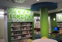 Leawood Pioneer Library / Leawood: it's got lots of color, light, and books. Perfect.