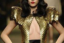 Draconic fashion / Dragons and fashion