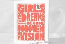 Girl Power / Inspiration from strong women. / by The American Women's College