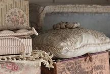 Linges anciens / Les merveilles du passé en matière de linge domestique